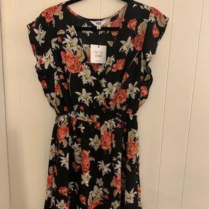 BB Dakota Floral Dress Brand New